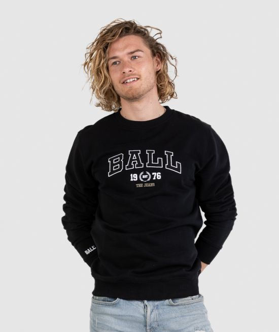 BALL SWEATSHIRT - L. TAYLOR, FLEECE INNERSIDE